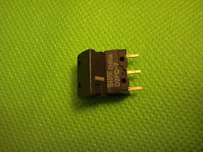 2X OMRON Micro Switch Microswitch D2FC-F-7N D2FC-7 for Mouse Mice Logitech