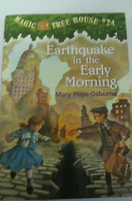 Magic tree house #24 , Earthquake in the Early Morning