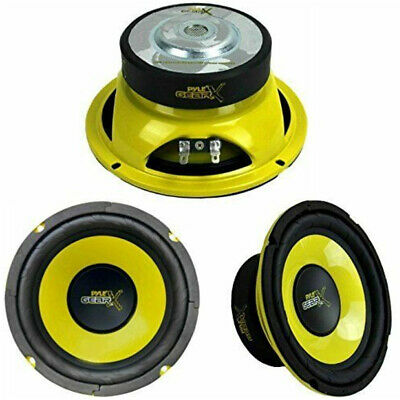 "Coppia Woofer 13,00 Cm 13,5 5"" Pyle Gear Plg54 200 Watt Rms Occasione Woofer"