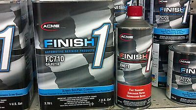 Auto Paint SHERWIN WILLIAMS FC710 GAL Finish1 Ultimate Spot Panel CLEAR COAT KIT
