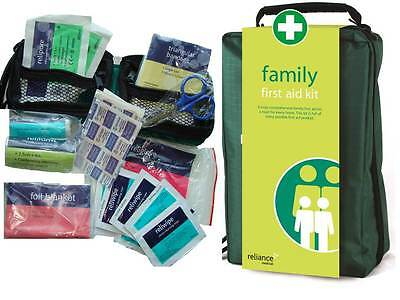 Family Large First Aid Kit in Soft Bag - please check out contents! **OFFER**