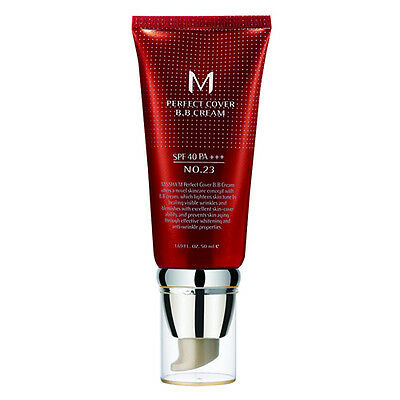 Missha M Perfect Cover B.B Cream SPF 42 No. 23 BB Creme Make Up, Pflegecreme