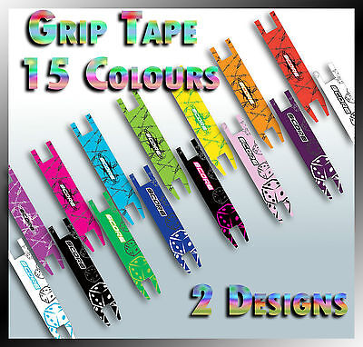 Scooter Parts - Deck/Grip Tape **Exciting Colours*Extra Grip*30 Colour Designs**