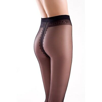 "Top Quality Mona Tights ""Dalia"" 15 Denier ,T-Band"