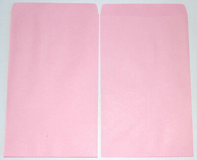 """NEW 20pcs Small Pink Paper Gift / Merchandise Bags 4 3/4"""" W x 7"""" H"""