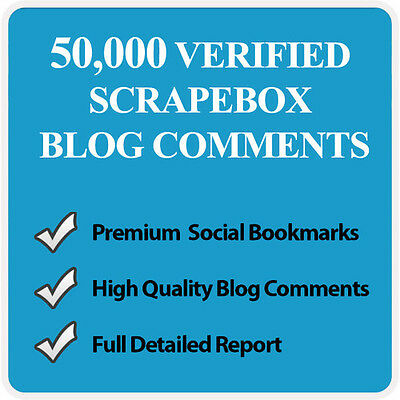 1ST PAGE GOOGLE - 50,000 Blog Comment Backlinks With Scrapebox SEO LINK BUILDING