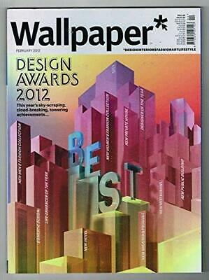 WALLPAPER Magazine #155 FEBRUARY 2012 @DESIGN AWARDS 2012 Issue@ @NEW@