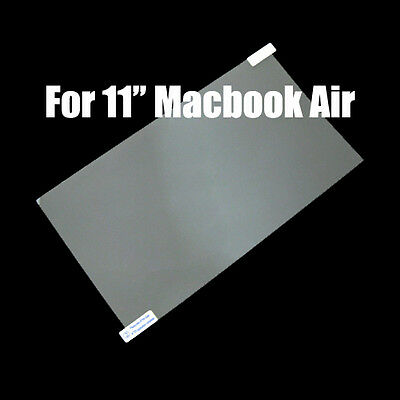 "LCD Screen Protector Guard Film Cover Skin For Apple Macbook Air 11"" 11.6"" A1370"