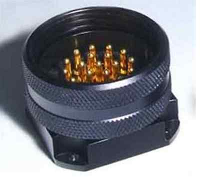19 Pin Socapex Style Male Panel Mount Connector