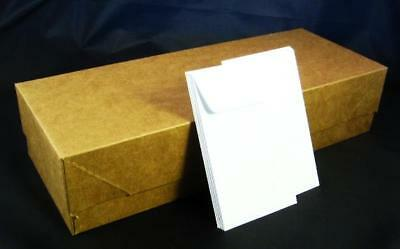 COIN ENVELOPE - New Box of 450 #3 White Acid Free 4 1/2 x 2 1/2 (4.25 x 2.5) in.
