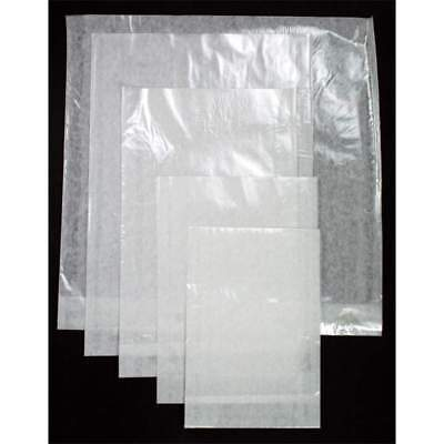 Pack of 100 Film Front Bags - For Home, Office or Shop. Open on short side