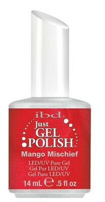 IBD Just Gel UV LED Gel Nail Polish Mango Mischief #56521
