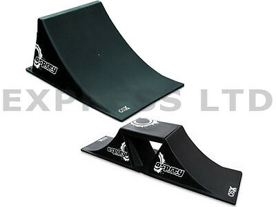 New Osprey Bmx Jump Large Skateboard Ramp/mini 3Pc Osx Skateboard Ramp Set