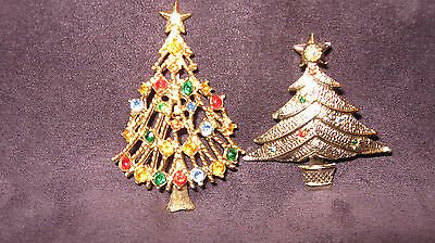 Christmas tree pin brooches B46