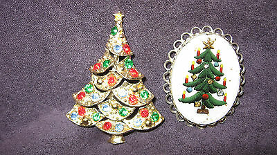 Christmas tree pin brooches B52
