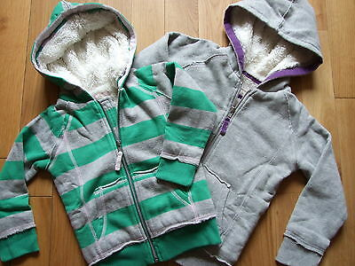 Mini Boden Shaggy Lined Zip Through Hoodie  Ages 1 -14  2  Colors Bnwot