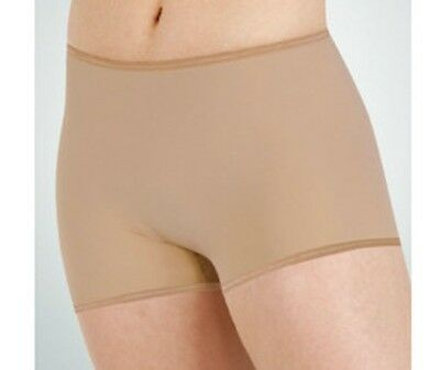 Body Wrappers 289 Women's Size Large (10-12) Nude Hot Shorts
