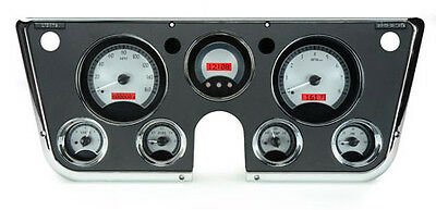 1967- 72 Chevy Pickup VHX Instruments (Silver Alloy Red)