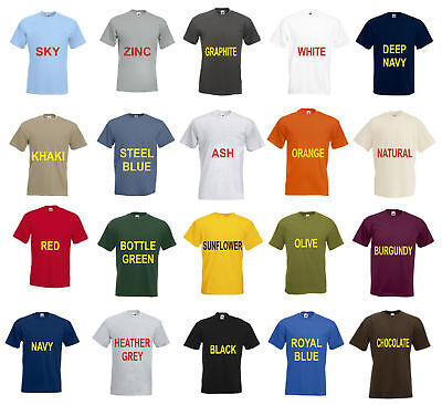Fruit Of The Loom Super Premium T-Shirt Heavy Weight