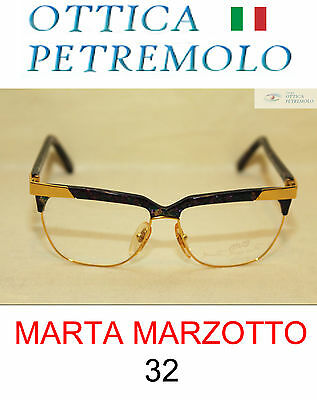 MARTA MARZOTTO 32 Donna Montatura Vista Vintage Made in Italy