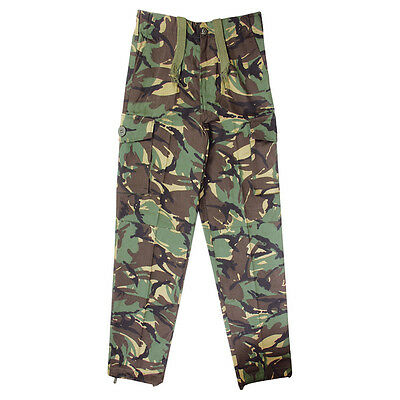 Kids Army Soldier Uniform Fancy Dress - DPM Camo Combat Trousers Ages: 3-14