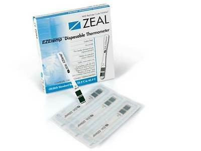 EZEtemp Zeal Disposable Thermometer Single Use Paediatric First Aid Childminders