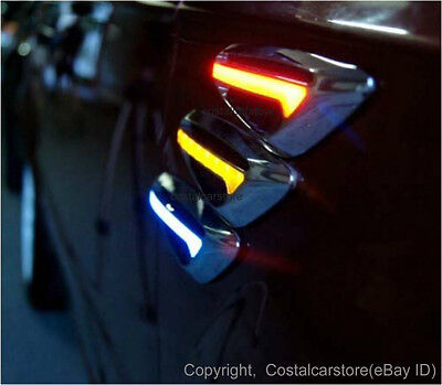 Ford Falcon AU BA BF FG Amber LED Side Indicators