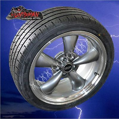 "X4 18""  HOLDEN HQ, HJ, HZ, WB  MAG WHEELS & TYRES,COBRA 235/40R18 or 245/45R18"