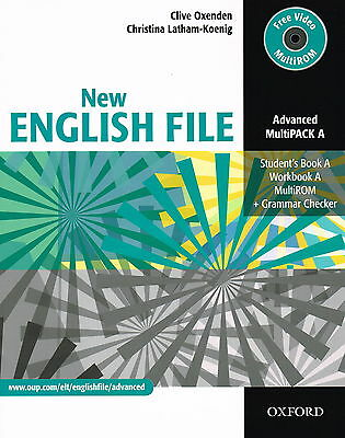 Oxford NEW ENGLISH FILE Advanced MultiPACK A @NEW BOOK with CD MultiROOM@