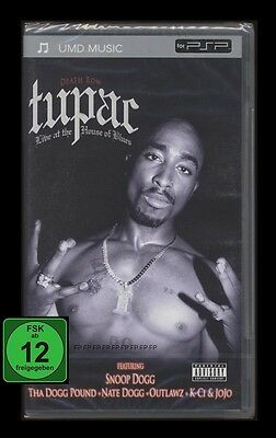 Psp Umd - Tupac - Live At The House Of Blues - Featuring Snoop Dogg *** Neu ***
