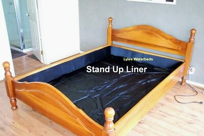 WATERBED Stand Up Liner  KING Timber Frame water bed