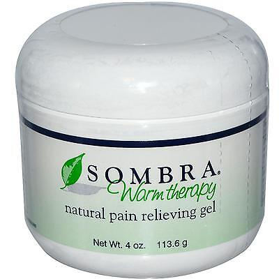 4 oz. Jar of SOMBRA WARM THERAPY ALL NATURAL PAIN RELIEVING Gel (FREE SHIPPING)