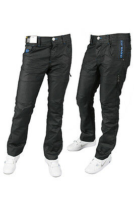 New Mens Jeans Enzo Ez44 Black Stylish Jeans Special Deal 28 To 40 £17.99 Only