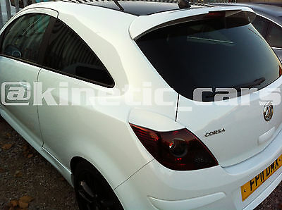 Vauxhall corsa D ABS rear eyebrows eyelids spoilers VXR