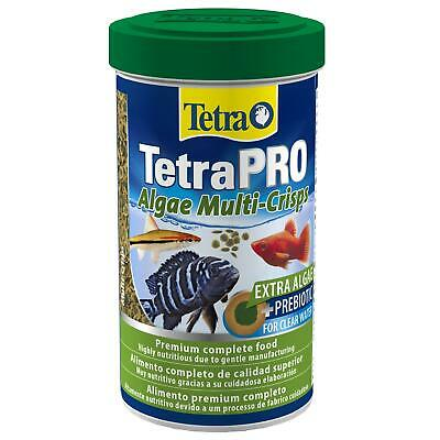 95g (500ml) TETRA TETRAPRO VEGETABLE ALGAE CRISPS TROPICAL AQUARIUM FISH FOOD