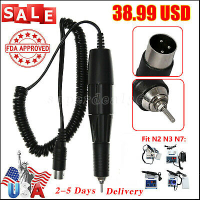 Dental NSK Style Contra angle Slow/low Speed Handpiece E-type Latch USA Sale EX4