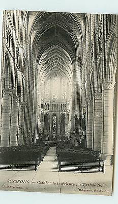 02-SOISSONS - Cathedrale - Grande Nef