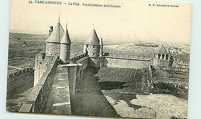 11- CARCASSONNE - Fortifications interieures