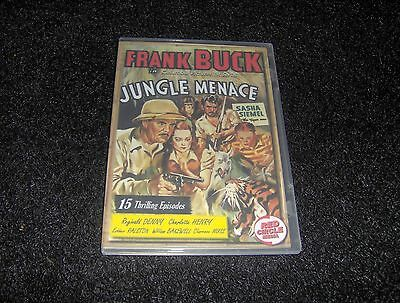 Jungle Menace Cliffhanger Serial 15 Chapters  2 Dvds