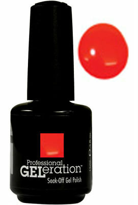 Jessica Geleration Soak-off Gel Nail Polish Orange Zest #094 0.5oz