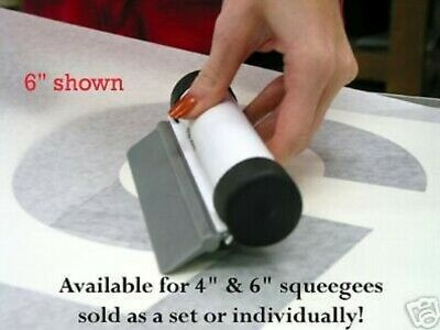 "4"" EZ GRIP w/ EMC GOLD squeegee for sign vinyl MUST SEE!"