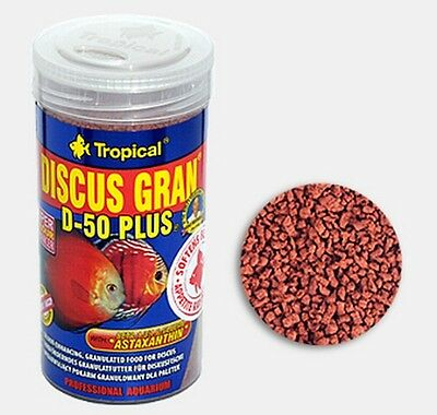 NOURRITURE POISSON SPECIAL DISCUS D-50 TROPICAL GRANULE 1000 ml