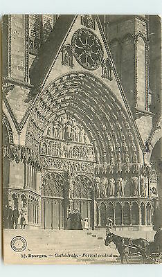 18-BOURGES -Cathedrale - portail central