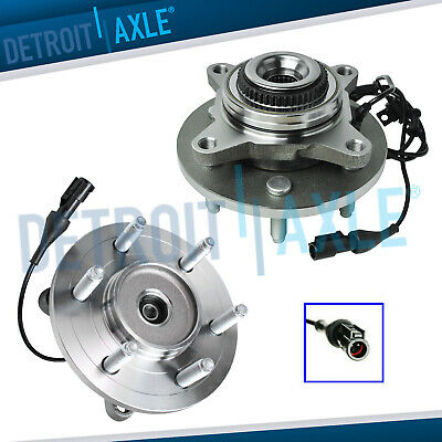 2 Front Wheel Bearing & Hub 2003-2006 Ford Expedition Lincoln Navigator 4x4 4WD