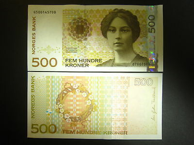 Norway P-New 2008 500 Kroner (Gem UNC)