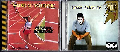 Running with Scissors by Weird Al Yankovic & What's Your Name? by Adam Sandler