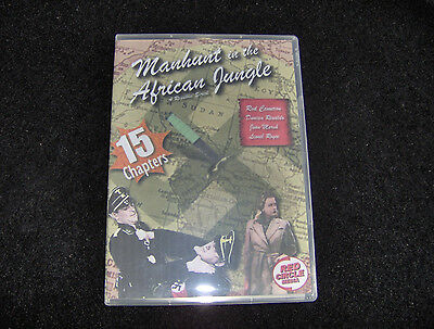 Manhunt In The African Jungles  Cliffhanger Serial 15 Chapters 2 Dvds