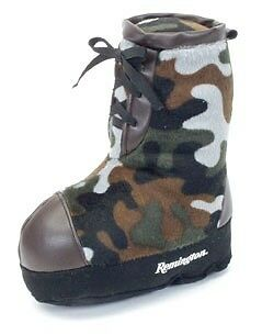 Remington Dog Puppy Toy Plush Soft Camo Boot NEW