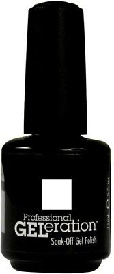 Jessica Geleration Soak-off Gel Nail Polish Chalk White #832 0.5oz