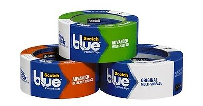 3M Painters Tape Various Sizes & Types Blue Painters Regular Edgelock & Delicate